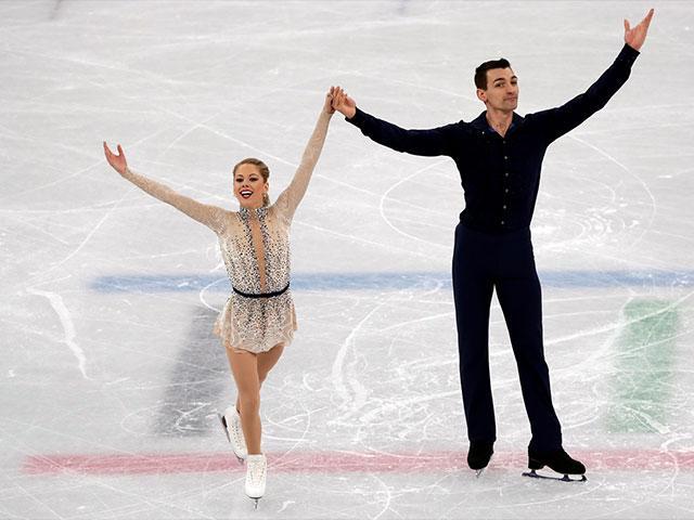 Alexa Scimeca Knierim and Chris Knierim