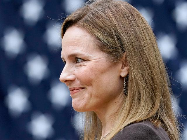 Judge Amy Coney Barrett is President Donald Trump's nominee to the Supreme Court. (AP Photo/Alex Brandon)