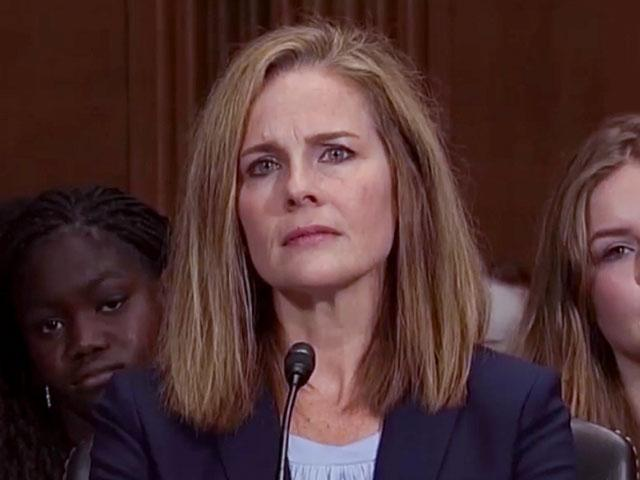 Amy Coney Barrett grilled about Catholic faith