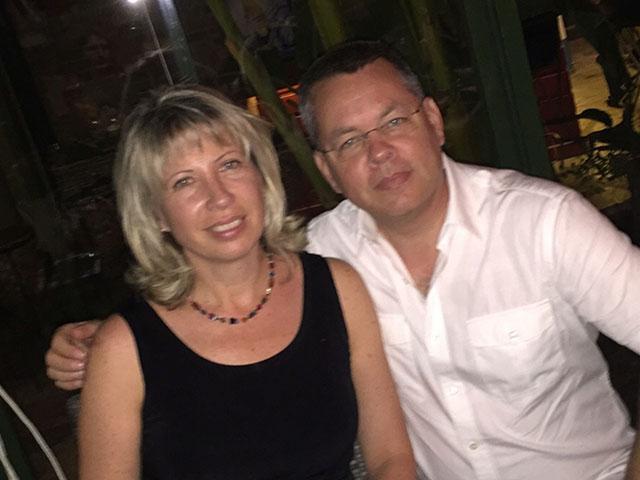 Pastor Andrew and Norine Brunson, Photo, FB