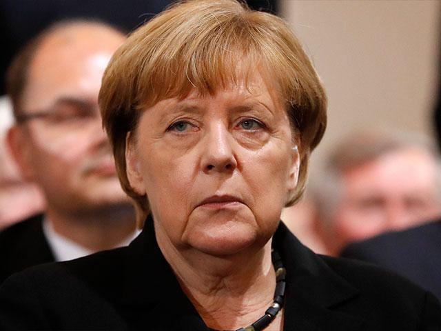German Chancellor Angela Merkel, Photo, AP