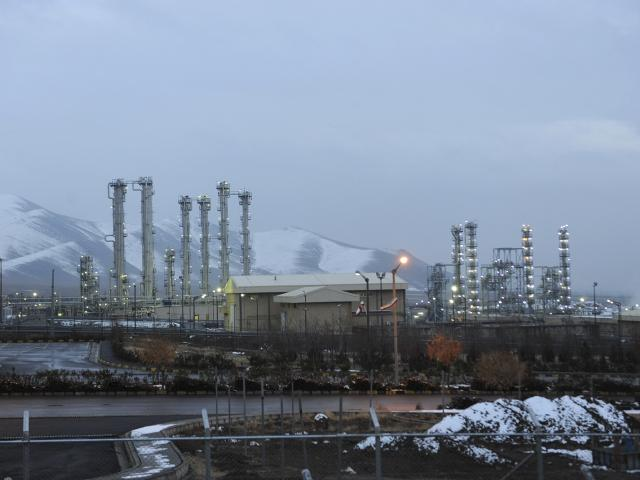 This Jan. 15, 2011 file photo shows Arak heavy water nuclear facilities, near the central city of Arak, 150 miles (250 kilometers) southwest of the capital Tehran, Iran. (AP Photo/ISNA, Hamid Foroutan, File).