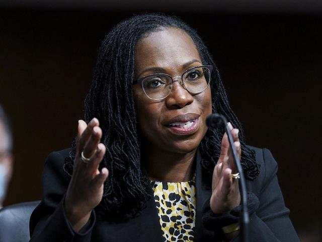 Ketanji Brown Jackson  (Kevin Lamarque/Pool via AP)