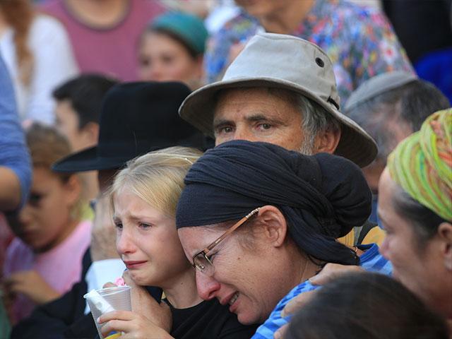 Hallel Ariel's funeral, Courtesy TPS, Hillel Maeir