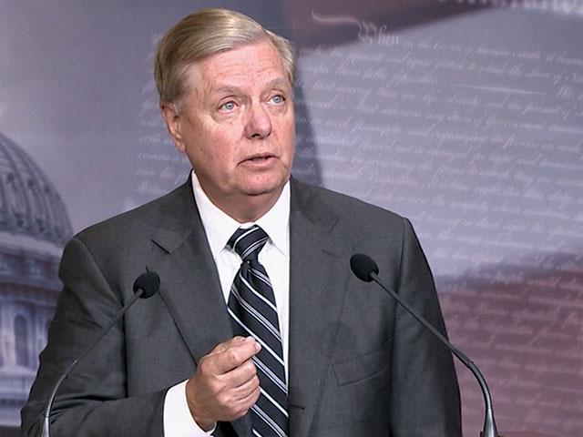 Sen. Lindsey Graham (R-SC) (Image credit: CBN News)