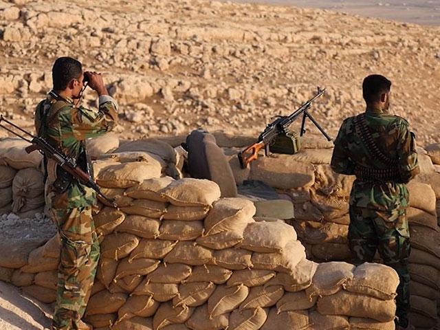 Peshmerga forces prepare for battle for Mosul