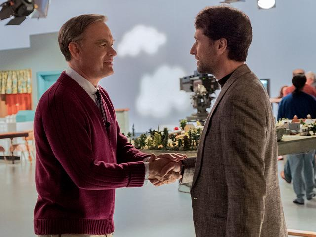 Tom Hanks, Matthew Rhys in A Beautiful Day in the Neighborhood