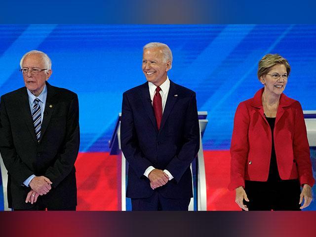 Joe Biden, Elizabeth Warren, and Bernie Sanders are leading the Democratic field for 2020.