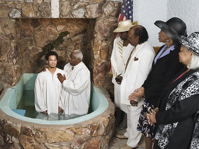Black Church Congregation