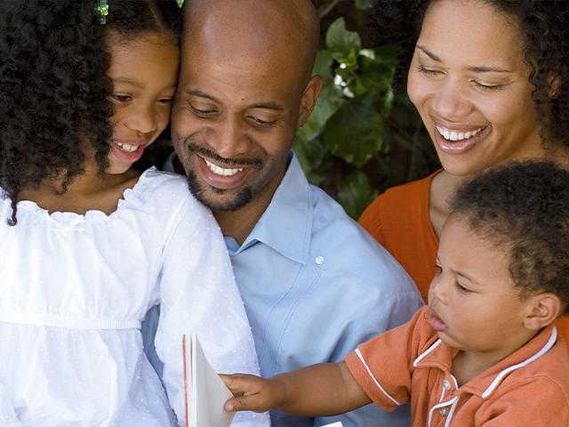Black parents (Adobe stock image)