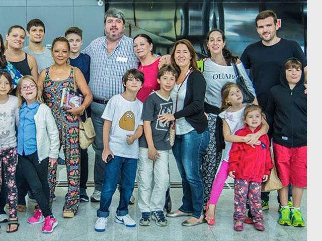 Brazilian immigrants, Courtesy The Jewish Agency, André Jerusalmy