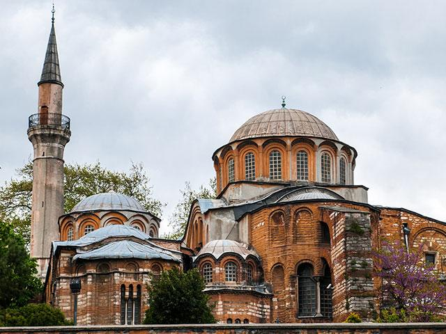 Byzantine-era Chora Church in Istanbul, Turkey