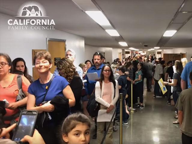 Photo Credit: California Family Council via Facebook