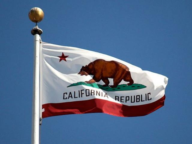 The flag of the state of California. (Photo Credit: Makaristos via Wikimedia Commons)