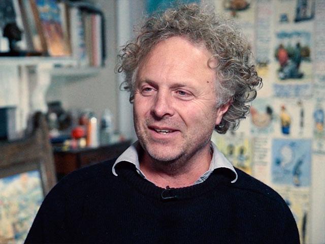 Charles Mackesy, artist, London, England