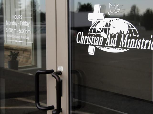Christian Aid Ministries in Berlin, Ohio is seen here on Sunday, Oct. 17, 2021. (AP Photo/Tom E. Puskar)