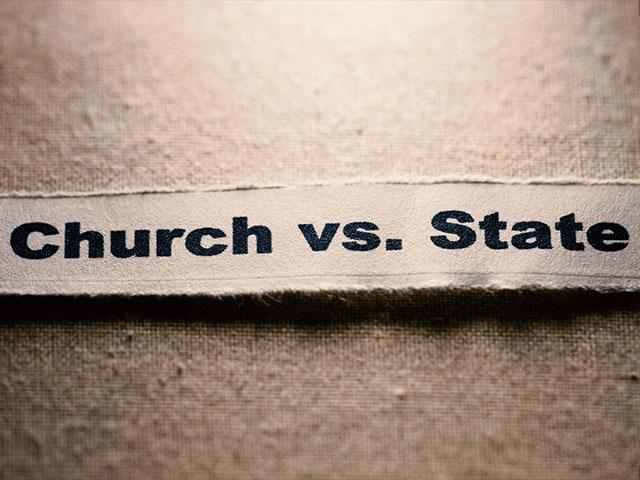 church vs state The uneasy relationship between church and state dominated the middle ages and has continued into modern times.