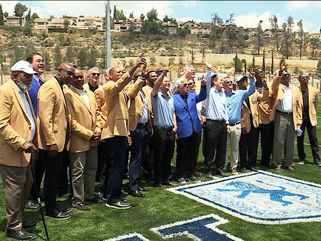 Kraft Family Sports Campus Dedication, CBN News Image