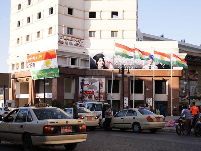Kurdish People Vote for Independence, Photo, CBN News, Jonathan Goff