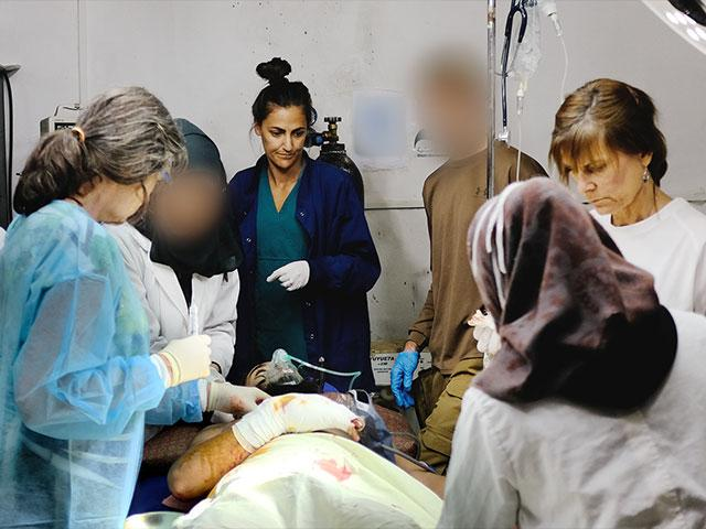 Frontier Alliance International, Surgery in Syria, Photo: FAI