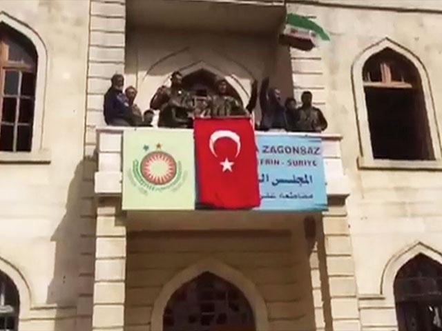 Turkish Conquest of Afrin, Photo, Associated Press