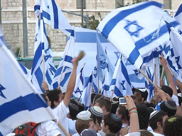 Israelis Celebrating Jerusalem Day, Photo, CBN News