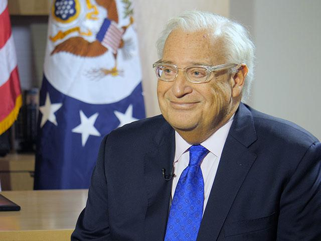US Ambassador to Israel David Friedman, Photo, CBN News, Jonathan Goff