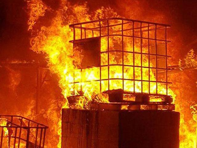 Greenhouse in Gaza-Perimeter Community Torched by Hamas Infiltrator, Photo, IDF
