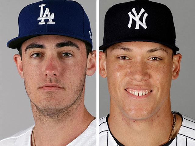 Cody Bellinger (left) and Aaron Judge (right) were named MLB's Rookies of the Year
