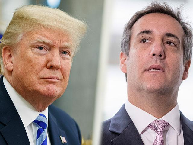 President Donald Trump and his former attorney, Michael Cohen