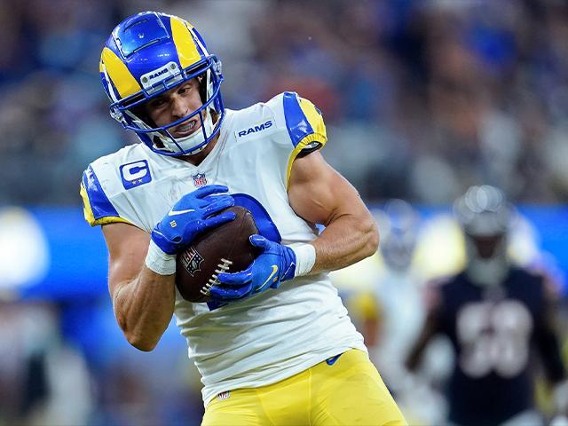 Los Angeles Rams wide receiver Cooper Kupp (AP Photo/Marcio Jose Sanchez)