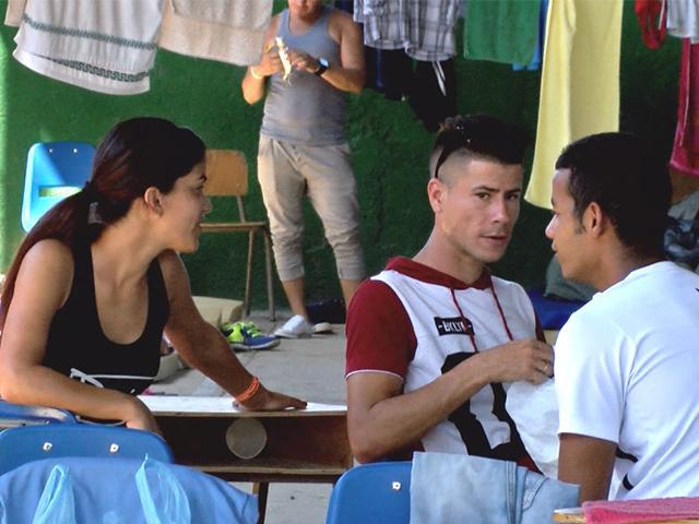 Cubanos varados en Costa Rica.