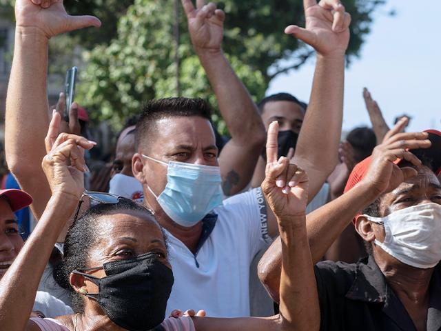 cubanprotesters