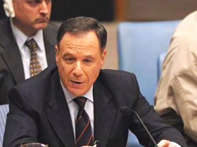 Former Israeli UN Ambassador Dan Gillerman, Screen Capture
