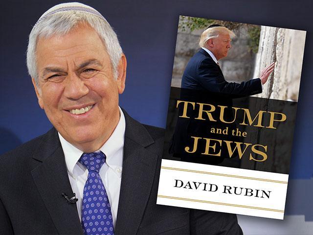 Israeli author David Rubin, Photo, CBN News, Jonathan Goff