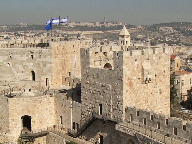 David's Citadel in Jerusalem's Old City, Photo, CBN News