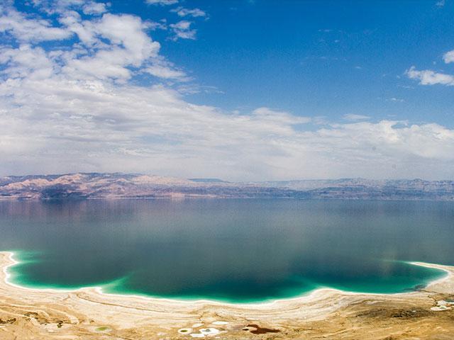 The Dead Sea, Photo, CBN News, Jonathan Goff