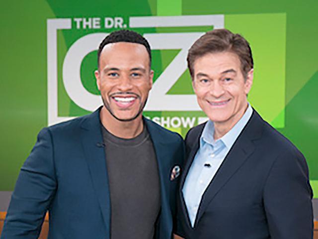 Dr. Oz with DeVon Franklin