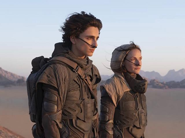 Dune movie Timothee Chalamet and Rebecca Ferguson