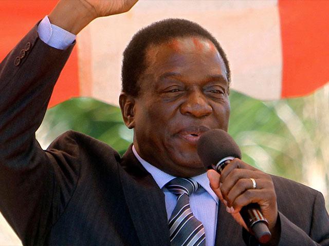 Emmerson Mnangagwa AP