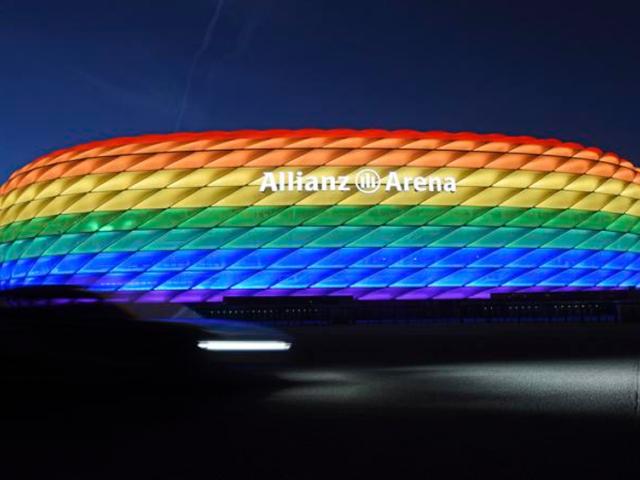 Estadio de Múnich (Tobias Hase-dpa vía AP)