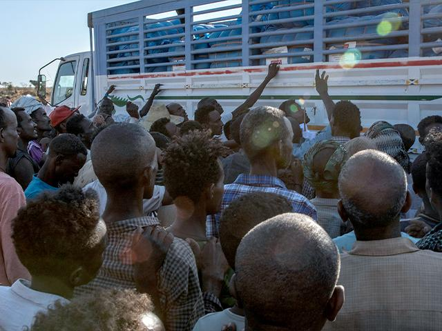 Fighting in Ethiopia has led to a massive wave of refugees fleeing the country