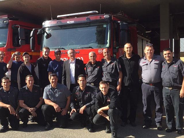 Emergency Volunteer Project Firefighters, Courtesy EVP
