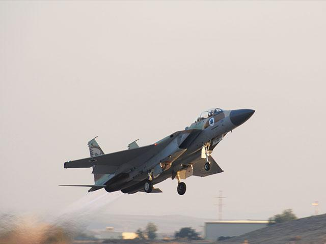 Israel Air Force F15 Eagle, Photo, GPO