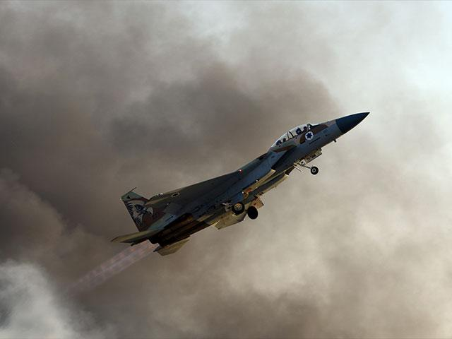 Israel Air Force F-15 Eagle, Courtesy GPO, Haim Zach