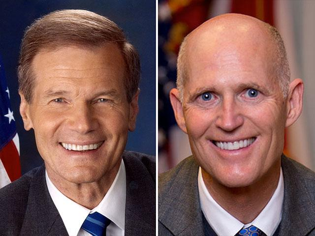 Florida Senate race, Gov. Rick Scott (R), Sen. Bill Nelson (D)