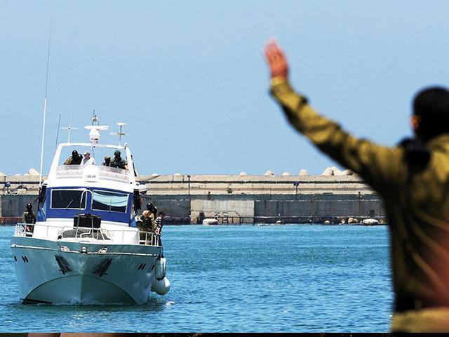 Flotilla Boat, GPO archive, Amos Ben Gershom