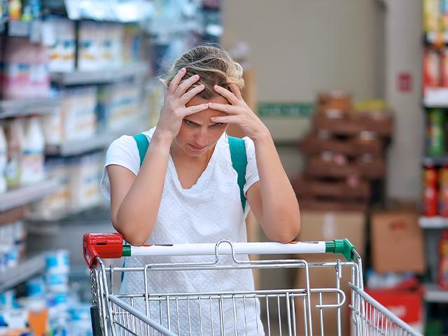 Food prices (Adobe stock image)