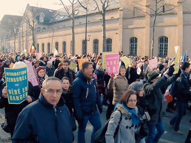 Rally against proposed France abortion law