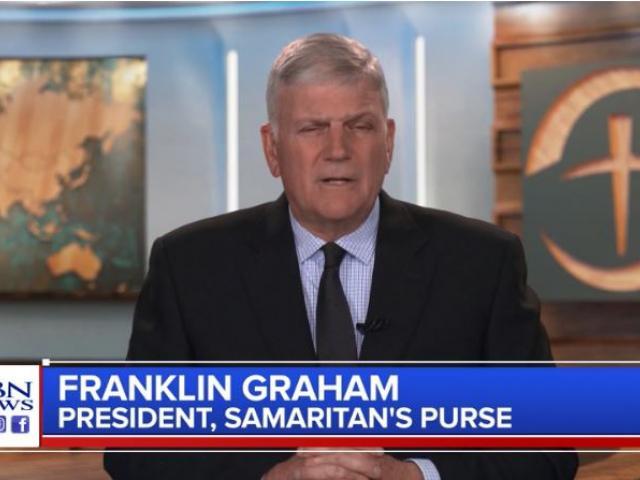 Franklin Graham. (Image credit: CBN News)